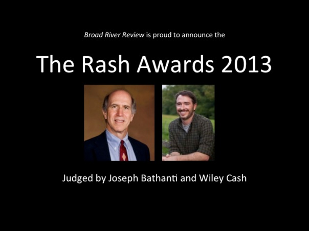 2013 Rash Award Banner for Web Page