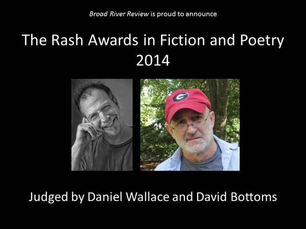 The Rash Awards in Fiction and Poetry 2014 - Website Banner