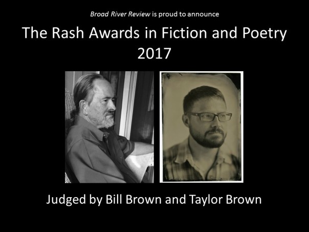 The Rash Awards in Fiction and Poetry 2017 - Website Banner