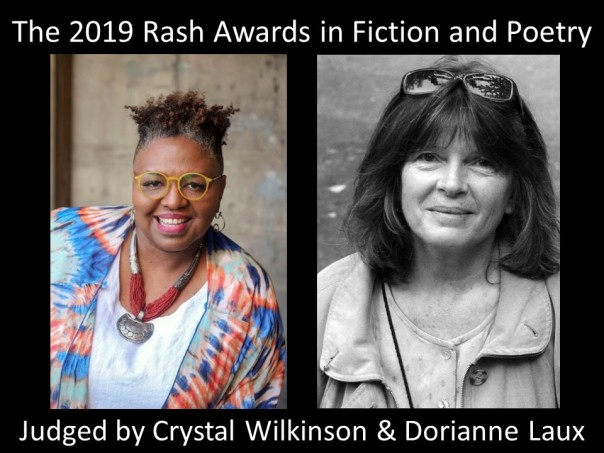 The Rash Awards in Fiction and Poetry 2019 - Flyer
